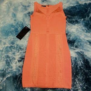 Bebe Bodycom Midi Sweater Dress